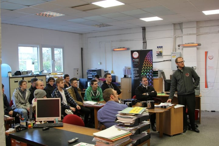 Engineering Students from Kendal College Visit njo