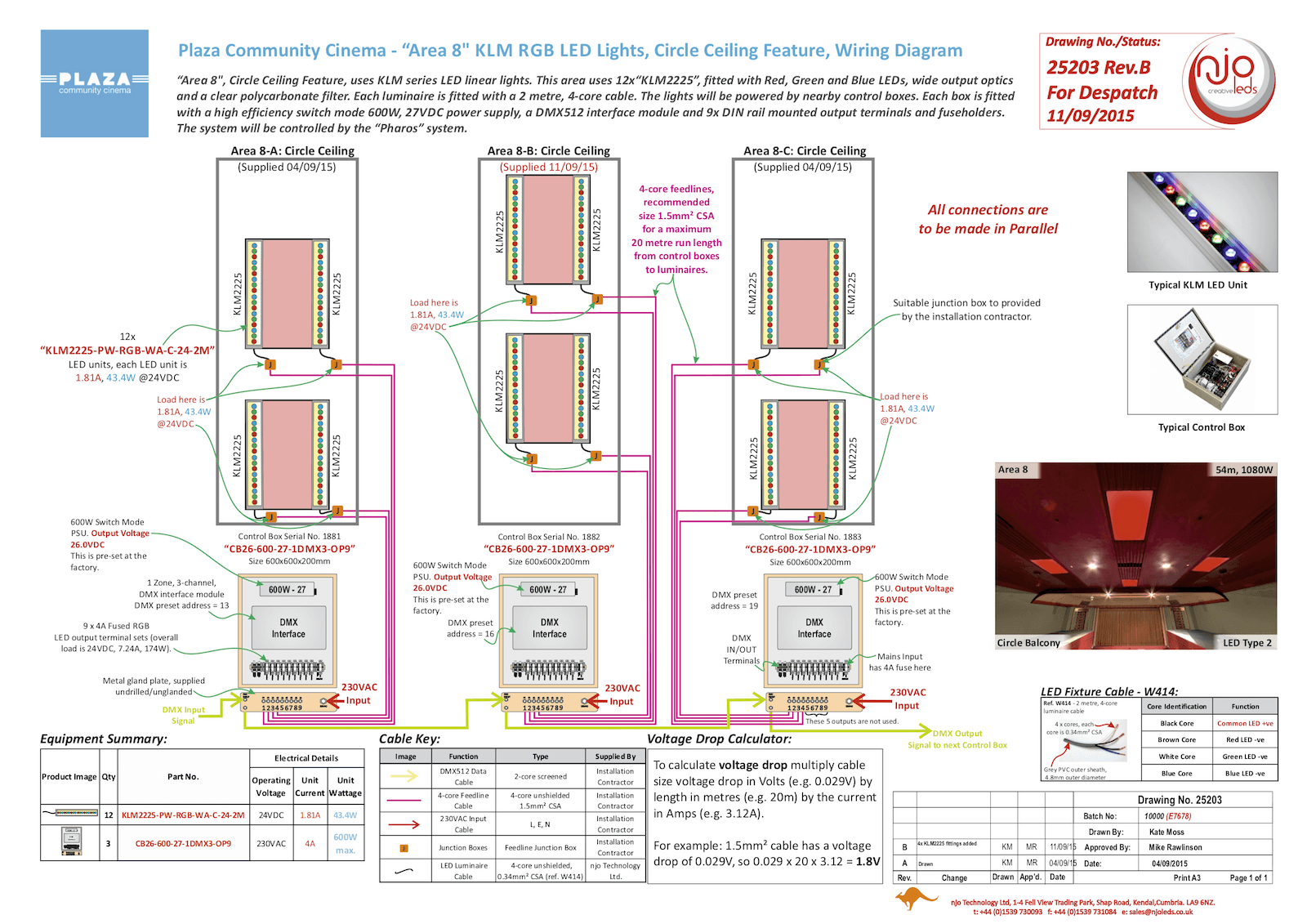 njo Plaza Community Cinema Typical Wiring Diagram