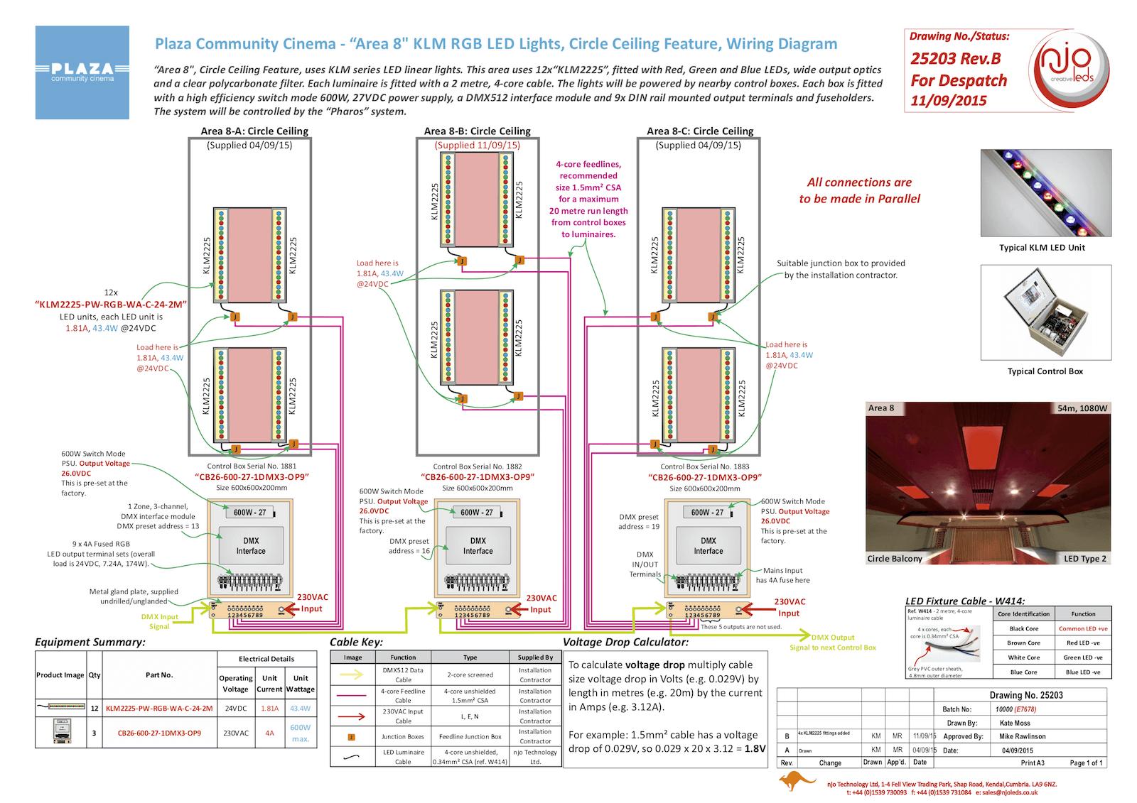 njo Plaza Community Cinema Typical Wiring Diagram